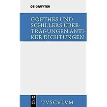 Übertragungen antiker Dichtungen (Sammlung Tusculum)