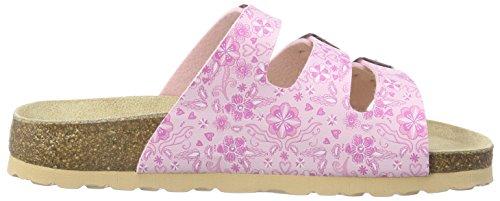 Superfit FUSSBETT Mädchen Pantoffeln Pink (POWDER KOMBI 61)
