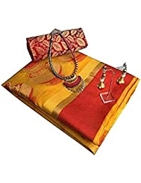 Saree Diwali Special/sarees New Collection/Sarees For Wedding / Party / Festival / Traditional Beautiful Cotton...