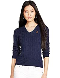 Amazon.fr   Ralph Lauren - Pulls, Gilets   Sweat-shirts   Femme ... 4fe5f443c9b