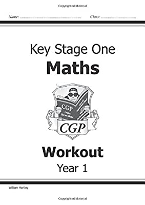 KS1 Maths Workout - Year 1 (CGP KS1 Maths) from Coordination Group Publications Ltd (CGP)