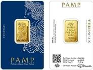 Suisse Pamp 24K (999.9) 1 Tola gold bar