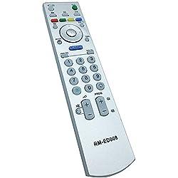 allimity nuevo reemplazo mando a distancia RM-ED008Fit para Sony KDL-40V2900KDL-40W2000KDL-46W2000TV