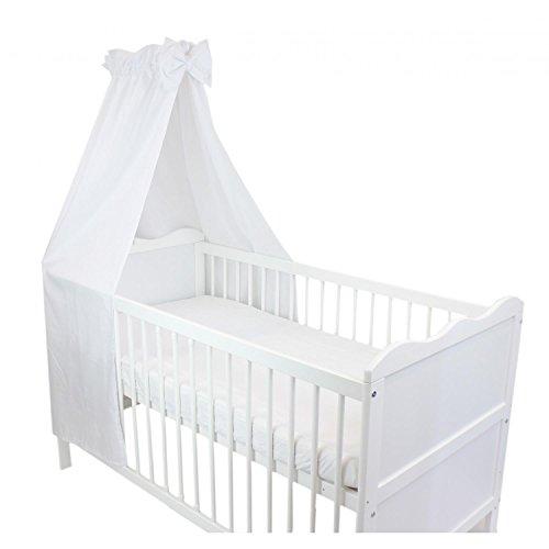 TupTam Babybett Himmel mit Schleifchen