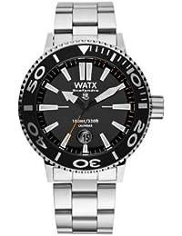 437841d0c26c Watx scafandro Reloj para Hombre Analógico de Cuarzo con Brazalete de Acero  Inoxidable RWA0310