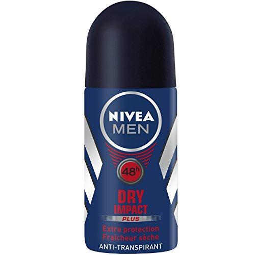 Nivea Men Déodorant Bille Dry Impact 50 ml - Lot de 2
