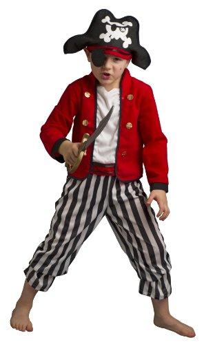 Disguise Pirat Kostüm mit Hut und Dolch für Kinder - 7 Johnny Depp Kostüm