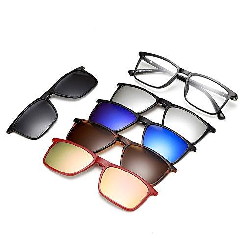 CHIC YOU Tr90High Gloss occhiali da sole fascette che fissano la fascetta  metri occhiali per visione 4fe961e7bc89