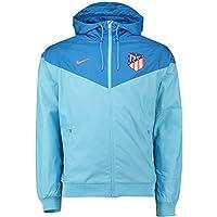 Nike 2018-2019 Atletico Madrid Authentic Windrunner Jacket (Blue)