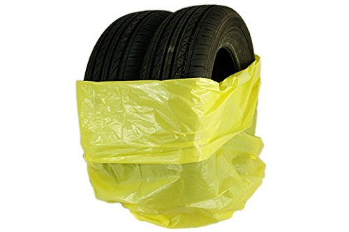 Preisvergleich Produktbild 10 Stück Reifensäcke 1000mm x 1000mm Premiumvon der Marke Stix / Säcke / Reifen / Reifenpackung / Reifentransport / höchste Qualität / Kunststoff LDPE / Stark / Reifentüten / 3 Reifen im einem Sack / Gelb / Reifenhüllen / bis 22 Zoll / Reifentaschen / Reifenbeutel / Reifenschutz / reifen aufbewahren / Lagern / Werkstatt / Kein Einreissen / Einlagerung / Autowerkstätten / Reifenhändler / Neu
