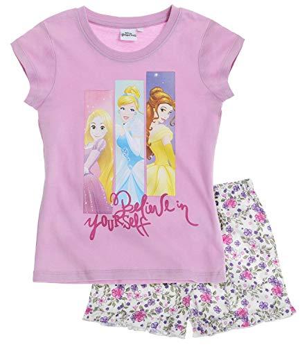 Disney Princess Mädchen Shorty-Pyjama - lila - 92 (Disney Lila Princess)