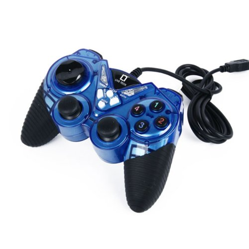 Live Technology Live Tech LT Game Pad (Dual Vibration Gamestick) Blue