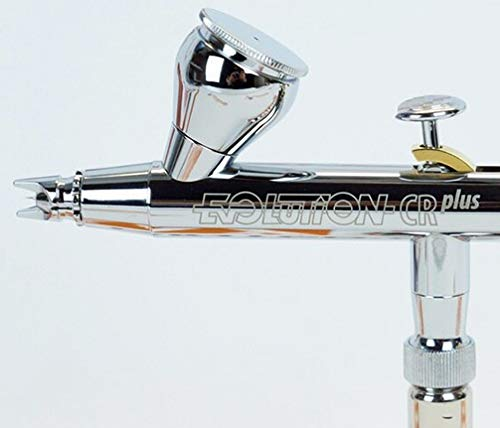 Evolution CR plus two in One Airbrush Pistole Chrom