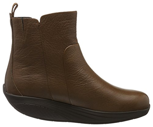 MBT Damen Madini Kurzschaft Stiefel, Marrone Cuoio, 39 EU Marrone (Coco Brown)