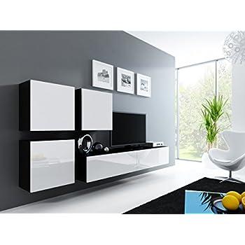 Wohnwand Vigo Xxiii, Design Mediawand, Modernes Wohnzimmer Set