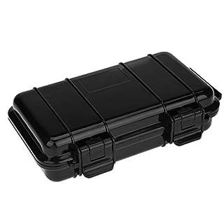 Dilwe Survival Aufbewahrungsbox, 3 Arten Solide Outdoor Shockproof Druckfeste Wasserdicht Überleben Box Container Lagerung Luftdichten Fall(B:190 * 120 * 52mm)