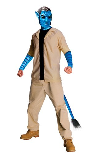 Avatar Jake Sully?-Kostüm für Herren - Einheitsgröße