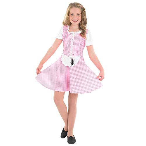 Fun Shack FNK2974L Kostüm, Girls, Miss Muffet, L