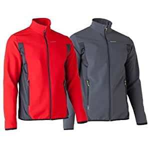 Quechua Forclaz 500 Softshell, Large (Red)