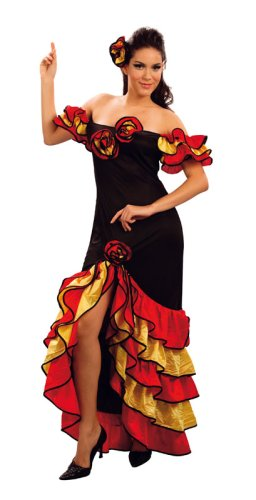 Preisvergleich Produktbild Spanisch Rumba Lady - Adult Kostüm
