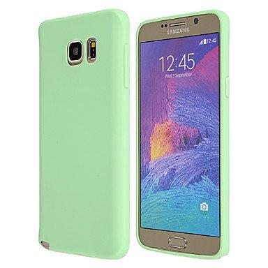 Gute Leistung Zauber spider®candy farbenen matte ultra dünnes TPU weiche Tasche für Samsung Galaxy Note 5 / Anmerkung 4 / Anmerkung 3 (Farbe sortiert) , Einfach zu bedienen ( Farbe : Grün , Kompatible Modellen : Galaxy Note 5 ) (Spider Geldbörse Green)