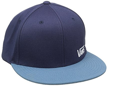 Vans Splitz - Casquette De Baseball Homme, Bleu (Dress Blues/Blue Ashes) - Large (Taille fabricant: Large/X-Large)