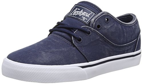 Globe Mahalo, Sneakers Basses mixte adulte Bleu (dark navy wash)