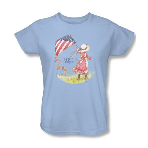holly-hobbie-womens-americana-t-shirt-small-light-blue