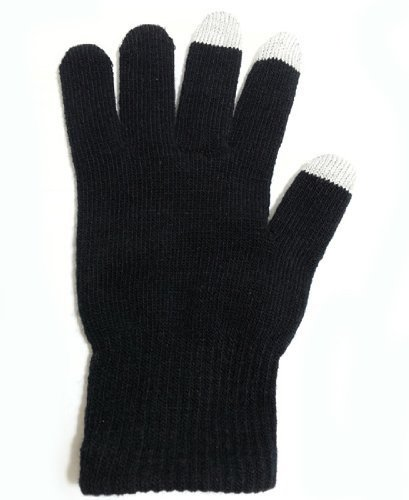 touch-screen-gloves-black-unisex-mens-womens-isotoner-winter-gloves-for-iphones-all-smartphones