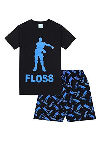 Floss Gaming Dance Short Jungen-Schlafanzug (9-10 Jahre 140cm)