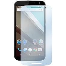 deinPhone Motorola Google nexo 6 1 x protector de pantalla transparente