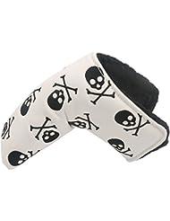 40ef820069700 Diseño de calavera Bones Filtro de colmena para palo de golf cabeza fundas  para palos de
