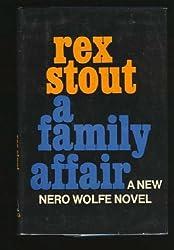 A Family Affair: A Nero Wolfe Novel by Rex Stout (1975-09-06)