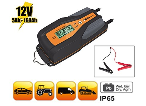 Beta 1498/8A elettronico auto/veicolo commerciale carica batterie, 12V