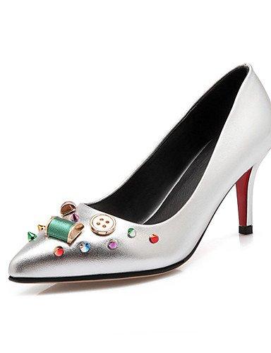 WSS 2016 chaussures talon aiguille talons des femmes / nouveauté / talons bout pointu mariage / fête&soirée / robe rose / rouge 3in-3 3/4in-silver
