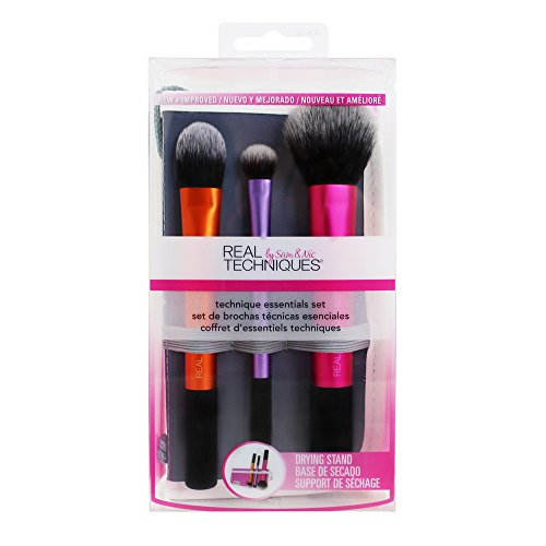Real Techniques 1400M Travel Essentials - 4-in-1 Reise Pinsel-Set