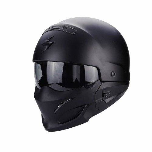 Scorpion Casco Moto exo-combat, Matt black, l