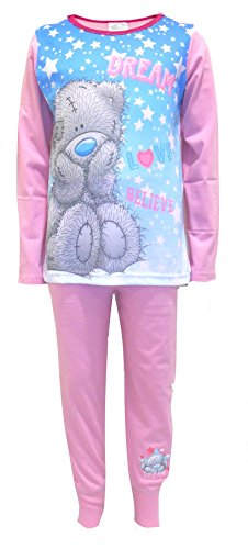 Me To You Girls Kids Tatty Teddy Full Length Pyjama Set Pjs Size UK 3-12 Years