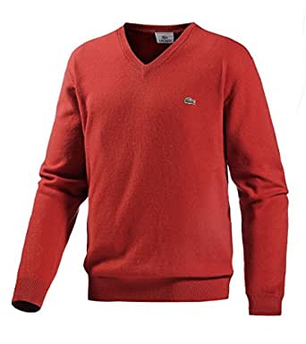 lacoste herren pullover orange 3 sport. Black Bedroom Furniture Sets. Home Design Ideas