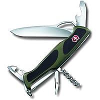 Victorinox RangerGrip 61 Coltellino Multiuso Svizzero, Verde/Nero