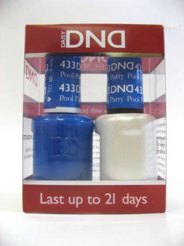 DND *Duo Gel* (Gel & Matching Polish) Spring Set 433 - Pool Party by DND Gel