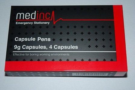 Medical Stationäre Medikamente Kapsel Stifte Pharmakologie zum Arzt oder eine Krankenschwester