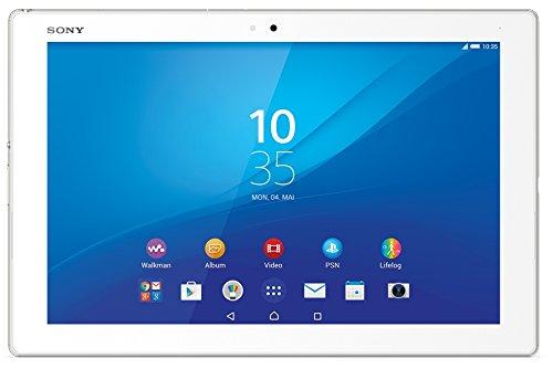 Sony Xperia Z4 Tablet-PC LTE 4G (25,6 cm (10,1 Zoll) TFT-Bildschirm, Octa-Core-Prozessor, 8,1 Megapixel-Kamera, 32 GB interner Speicher, Android 5.0) weiß