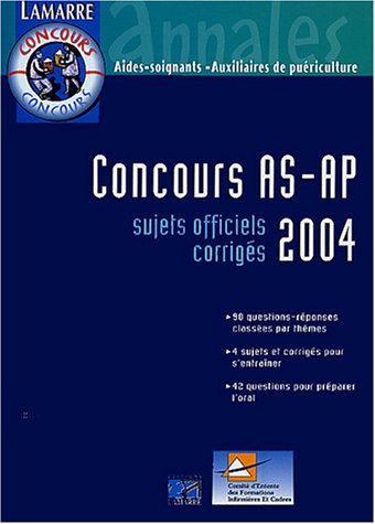 CONCOURS AS/AP 2004
