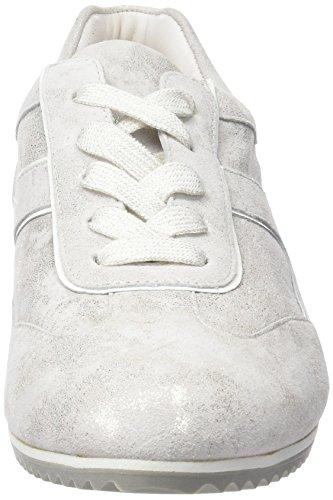 Hassia - Piacenza, Weite G, Scarpe da ginnastica Donna Bianco (Weiß (0200 weiß))