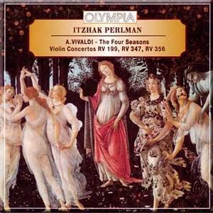 Vivaldi - The Four Seasons Violin Concertos RV 199, RV 347, RV 356 - Itzhak Perlman -