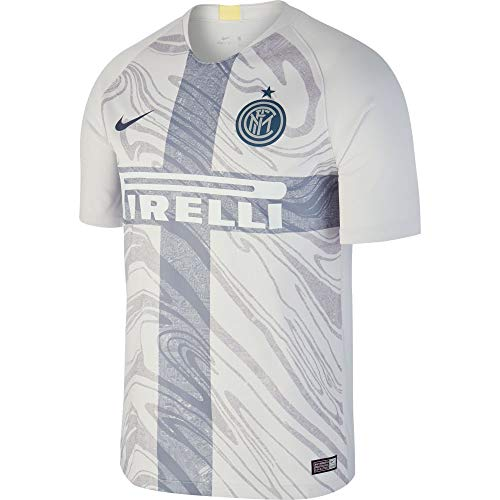 Nike Herren Inter Mailand Breathe Stadium 3rd T-Shirt, Vast Grey/Thunder Blue, L