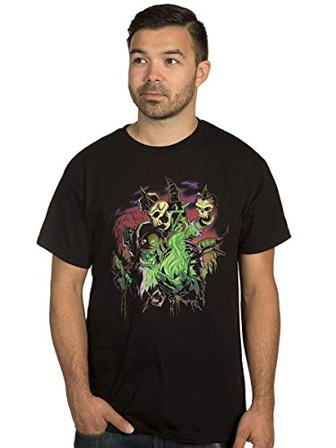 5659e625 Pliuegy World of Warcraft Legion Destroyer Dreams Gul'dan Men's Short  Sleeve Black Tee Shirt