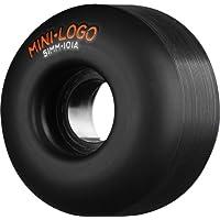 Mini-Logo 101A Ruedas para Monopatín, Color Negro, Talla 51 mm