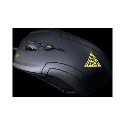Usb Wired Laser Maus (KWORLD GAMDIAS Demeter gms5010schwarz 6Tasten 1x Scrollrad USB Wired Laser 3600DPI Maus gd-gms5010)
